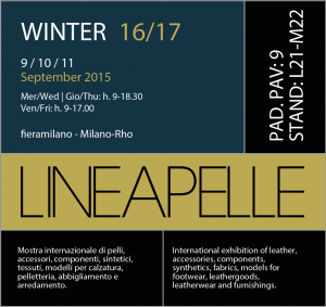 LINEAPELLE SEPTIEMBRE 2015